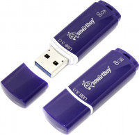 Флешка Smartbuy 8gb crown blue USB 3.0 (sb8gbcrw-bl)