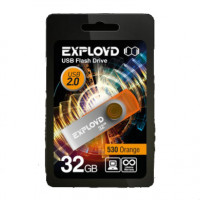 Флешка Exployd 32GB 530 Оранжевая