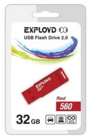 Флешка Exployd 32GB 560 Красная