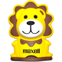 Детская флешка Maxell 4Gb Animal Collection Lion