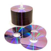 Диски DVD+R 9,4 GB 8x (Mirex) Double Side blank Bulk 50 (Двухсторонние)