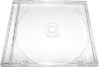 Бокс для дисков 1CD Jewel Case прозрачный