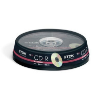 Диски TDK CD-R 700Mb 52x cake box 10 (t19539)