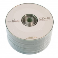 Диски Videx Titanum CD-R 700Mb 52x bulk 50