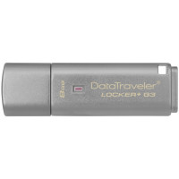 Флешка Kingston DataTraveler Locker+ G3 8GB USB 3.0 С паролем